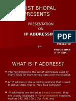 Ppt on Ip Address