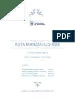 Ruta Manzanillo