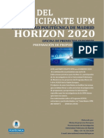Guia Basica Preparacion PropuestasH2020 UPM 19-02-2014