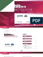 Revista Análisis de la Realidad Nacional No. 51