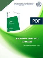 Excel Avanzado 2013