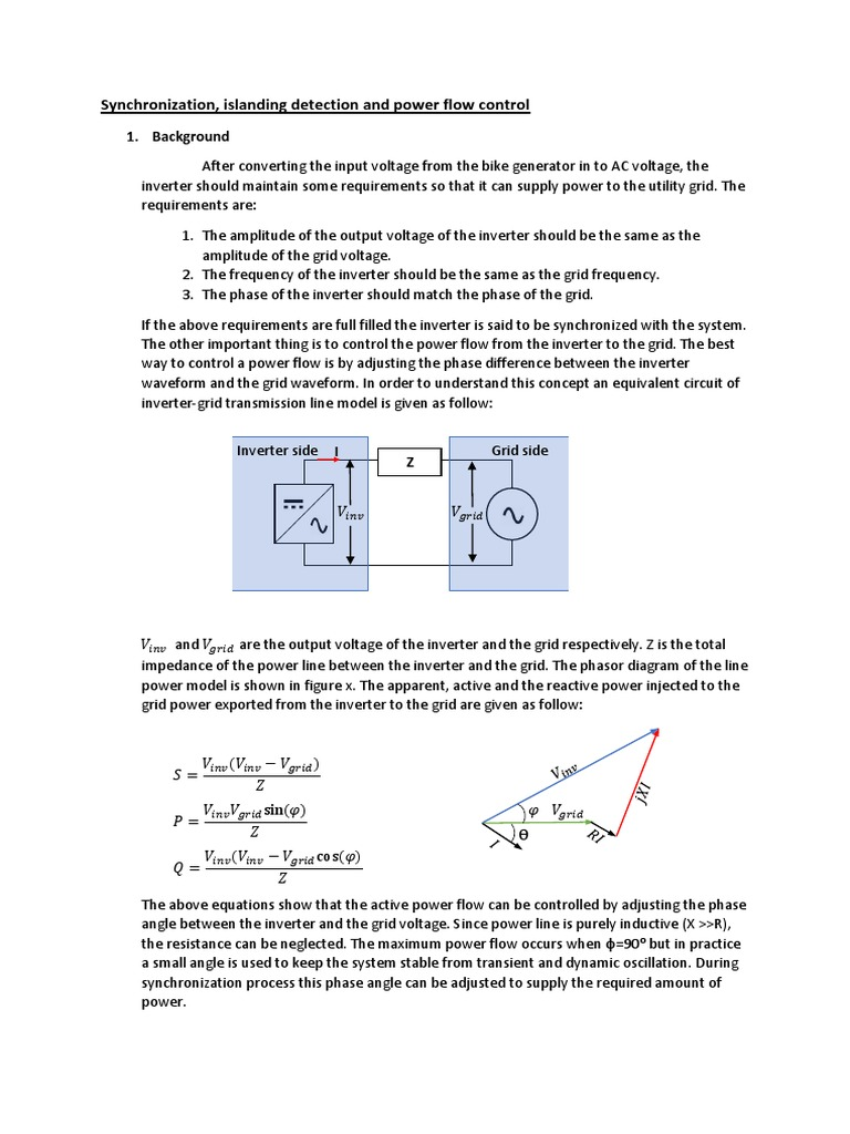 software phase locked loop | Power Inverter | Ac Power