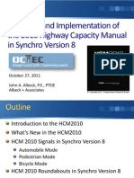 JAA - Overview & Implementation of the HCM2010 in Synchro V8 (10!20!11)