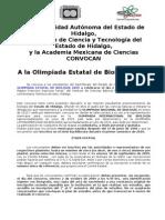 Convocatoria 2009-10 Solo Biol