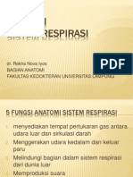 Anatomi Sistem Respirasi Dr. Rekha
