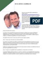 Factores causantes de la calvicie y medidas de precaución