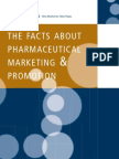 Marketing and Promotion Facts in Pharmaceuticals