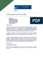 PESC in Constitutia Europeana
