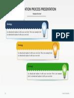 Slideshop Free Slide Innovation Process Blue New