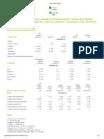 BP's Energy Conversion Factors Table