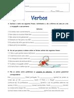 Ficha 17- Verbos