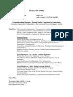 Congestion Pricing Media Advisory -- June 2 2014