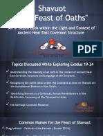 Shavuot Feast of Oaths