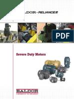 Baldor Severe Duty Motors