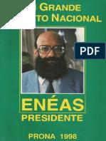 Um Grande Projeto Nacional (1998) - Enéas Carneiro
