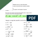Equação Exponencial Blog