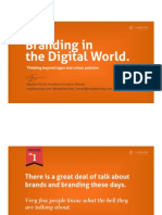 Branding in the Digital World – Thinking Beyond Logos and Colour Palettes