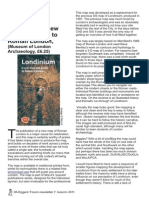 Review of archaeological map of Londinium, a new map and guide