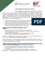 Aplicacion Mentores- JE2014