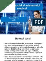Statutul Social Al Asistentului Medical