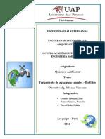 quimica ambienta BIOFILTRO