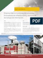 Brochure Terremark COLOMBIA