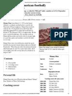Manny Diaz (American Football) - Wikipedia, The Free Encyclopedia