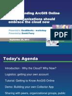 Day 3 Understanding ArcGIS Online