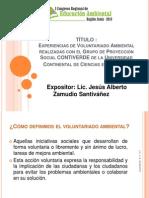 EXPOSICIÓN VOLUNTARIADO AMBIENTAL