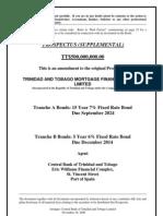 TTMF Bond Prospectus Supplement