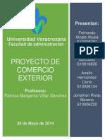 Proyecto de Comercio Exterior Final