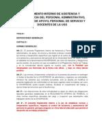 Reglamento Interno de Asistencia y Permanencia de Personal Docente.doc