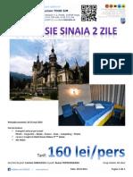 Excursie Sinaia 2 Zile