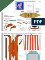 Papercraft Building - Viking Ship