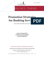 Banking Promotion Paper