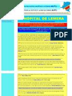 L'HÔPITAL DE LEMERA   COMMENTAIRES