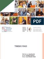 Organizacijsko ponasanje - Timski rad