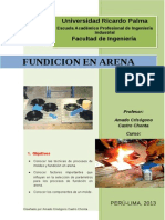 Guias De Laboratorio 1 Manufactura FUNDICION En ARENA
