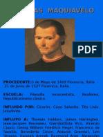 VVAA de Maquiavelo a Kant