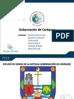 Gobierno de Caráquez