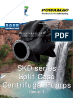 SKD Split Case Centrifugal Pump Brochure