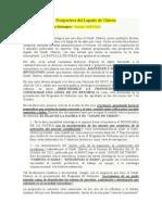 Prospectiva Del Legado de Chávez. (1)