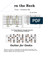 Learn The Neck  -  Part 4 -  Position 6