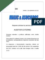 Invitacion Por La Prensa