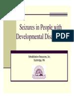Seizure Presentation