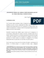 Analisis Del Modelo de Habeas Corpus