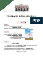 Programa Junio - Julio