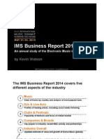 IMS Report 2014 - The EDM industry study by Kevin Watson