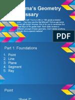emmas geometry glossary - google slides