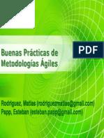Buenas Prácticas de Metodologías Ágiles